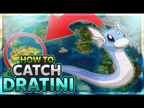 HOW TO CATCH - DRATINI || Pokemon Ultra Sun & Ultra Moon