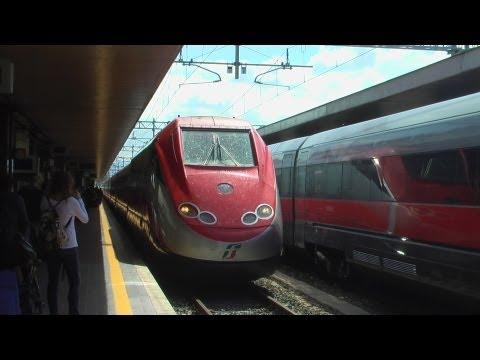 (HD) Rome Termini to Florence Santa Maria Novella - FS ETR 500 Frecciarossa *Full journey* 06/04/13