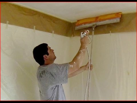 Keep it Clean Popcorn Ceiling Removal (2 of 2) [unknown trick]
