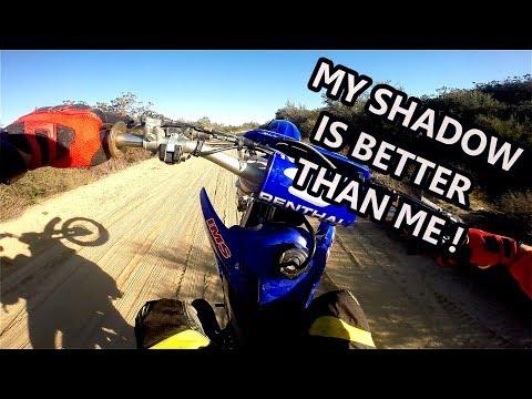 How to wheelie a dirt bike - my progress.