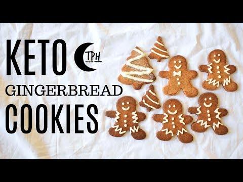 Keto Gingerbread Men Cookies | Low-Carb Gingerbread Cookie Recipe