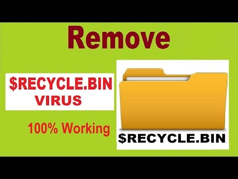 Remove $RecycleBin Virus (Folder) and Hide System Files