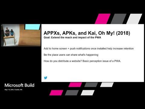 Modernizing Twitter for Windows as a Progressive Web App : Build 2018