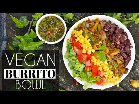 How to make Vegan Burrito Bowl (Chipotle Inspired)