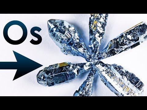 Osmium - The DENSEST Metal On Earth!