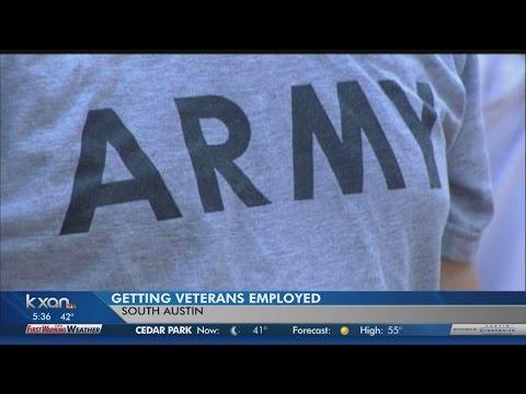 Hiring heroes, finding jobs for Austin veterans