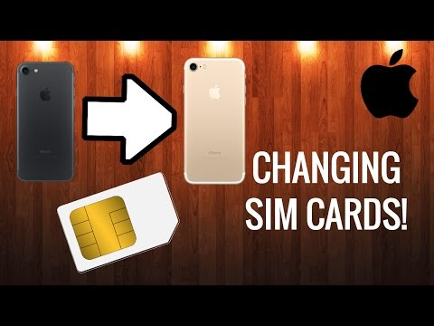 How To Take Out & Replace Apple iPhone 7/6s/6/5/5s SIM Card (Easy & Fast)