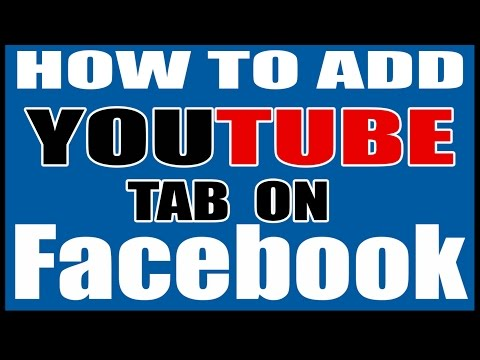 how to add youtube tab on your facebook fan page