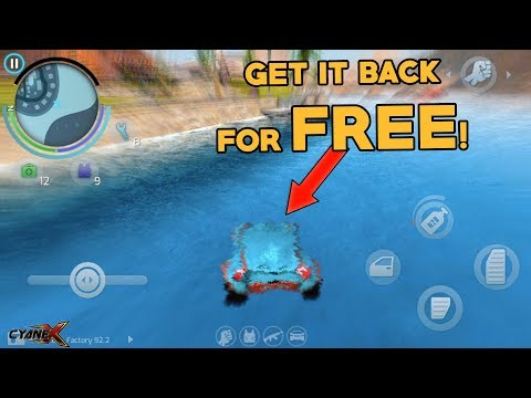 GLITCHED LIFE # 15 - SAVE YOUR CAR FROM WATER & AXE EFFECT | Gangstar Vegas