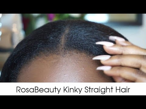 This weave looks JUST like my relaxed hair! | How to do a natural sew in weave on yourself