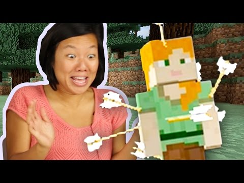 People Try Minecraft For The First Time