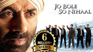 Jo Bole So Nihaal Full Movie | Bollywood Action Movie | Sunny Deol | Kamaal Khan