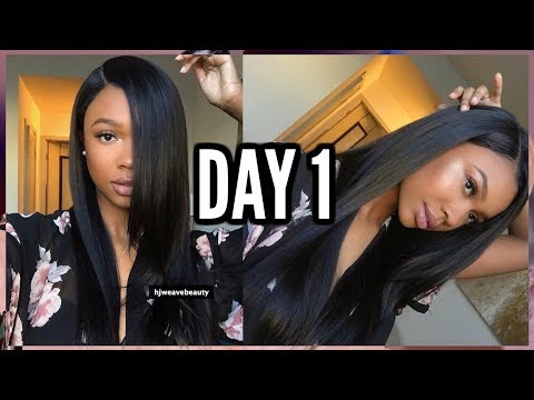 THIS WIG IS LAID FOR THE GAWDS! #HAIRWEEK SPRING EDITION DAY 1: HJWEAVEBEAUTY