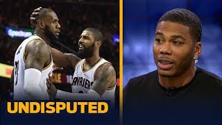 Is LeBron James really upset with Kyrie Irving? Nelly weighs in | UNDISPUTED