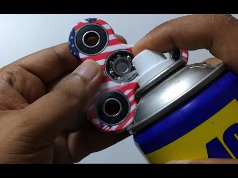 Boost your FIDGET Spinner Turbo FASTER FROM WD40