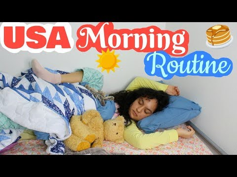 My Morning Routine in USA!