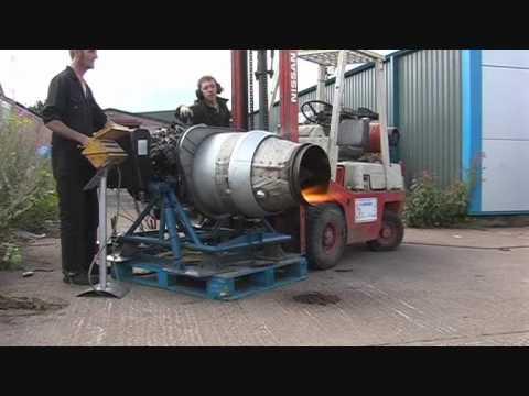 Runaway Jet Engine