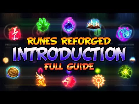 Introduction - NEW SEASON 8 RUNES   PRO TIPS & GUIDES - League Of Legends