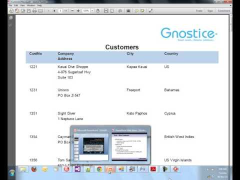Gnostice - CodeRage 7 - Tour of the new Gnostice document processing tools