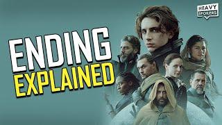 DUNE 2021 Ending Explained   Full Movie Breakdown, Sequel News, Review And Reaction