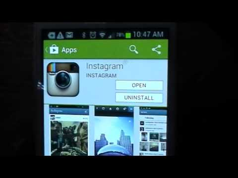 Download Instagram on Samsung Galaxy S2