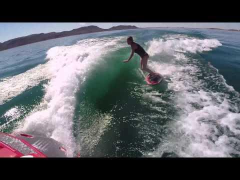 Wake surfing... Skimming... Lake Fun! Mastercraft X30