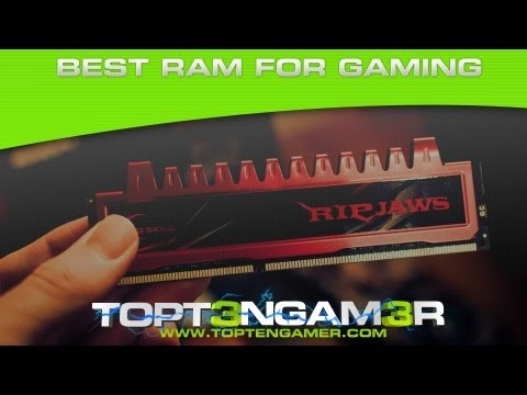 Best DDR3 Gaming Ram 2013 - How Much Do You Need?