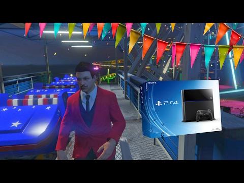 PRIMERA VEZ EN GTA V ONLINE PS4!! | Momentos Divertidos (Funny Moments)
