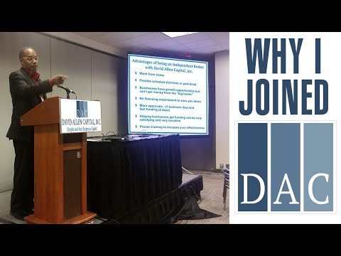 David Allen Capital || Why I JOINED DAC