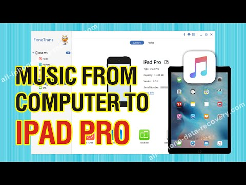 How to Transfer Music from Computer to iPad Pro without iTunes