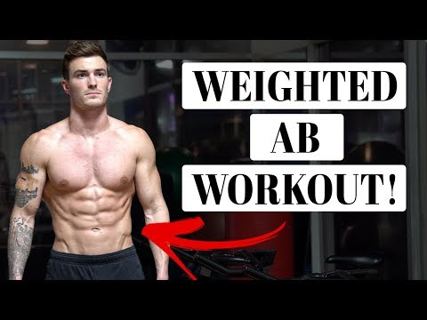 Insane Weighted Six Pack Abs Workout (ALL 4 MUSCLE GROUPS!)