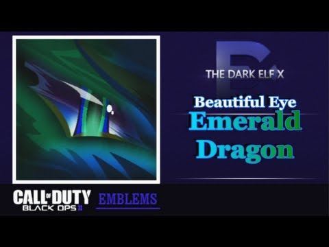Black Ops 2 Emblem - Beautiful Eye ( Emerald Dragon )