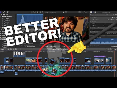 Edit BETTER Vlogs!! (Filmmaking  Editing Trick)  - by Knoptop