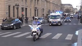 ambulance SAMU  dans  Paris