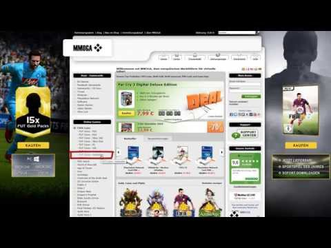 FIFA 15 Coins verkaufen [PC / PS3 / PS4 / Xbox 360 / Xbox One] - MMOGA Tutorial