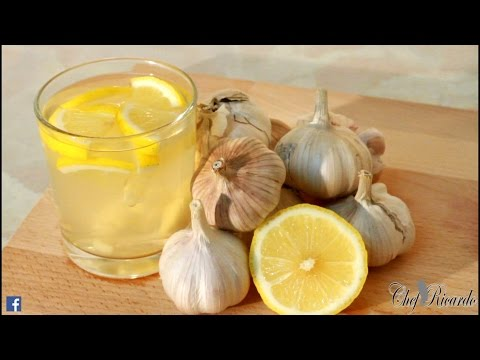 Garlic Tea For Flat Belly - And Weight Loss | Recipes By Chef Ricardo