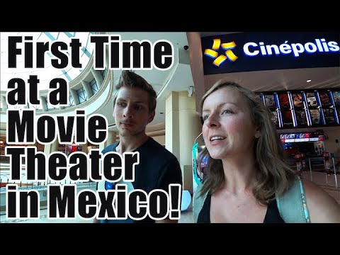 #86. Our First Time Ever at an Upscale Mexican Movie Theater (Guadalajara, Mexico)