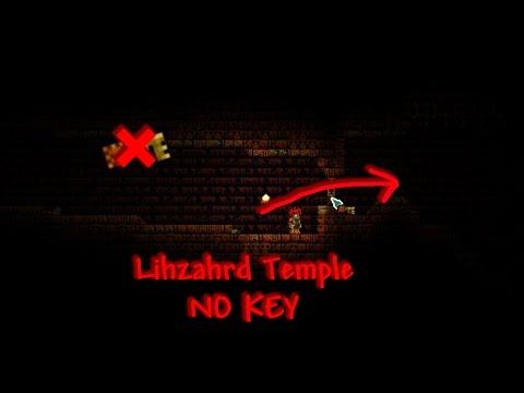 Terraria- Enter the Lihzahrd Temple Pre-Plantera (WORKING AS OF 1.3.2)