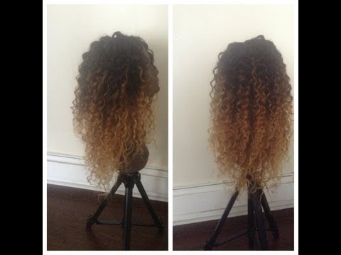 Curly Hair Ombre DIY: Queen Weave Beauty LTD - ChimereNicole