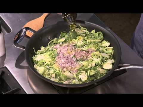 Wegmans Shaved Brussels Sprouts with Pancetta