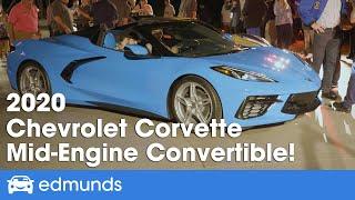 2020 Corvette Stingray Convertible Reveal — Mid-Engine C8 Corvette Convertible!