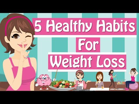 6 Healthy Habits For Weight Loss Healthy Eating Habits Healthy Living
