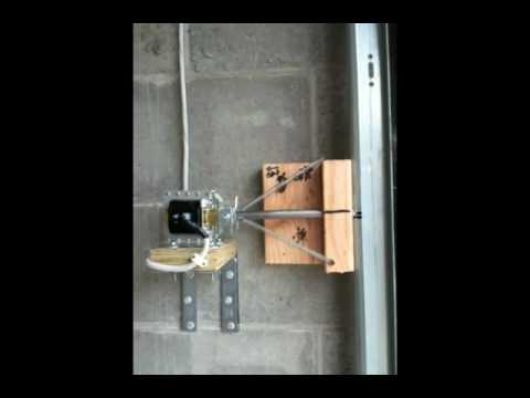 Garage Door Deadbolt Automatic Lock