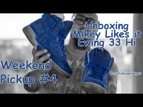 Mikey Likes It x Ewing 33 Hi Unboxing - Weekend Pickups #4 Limited Edition Sneaker Review