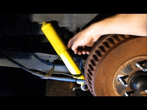 How to Replace Shocks with basic hand tools