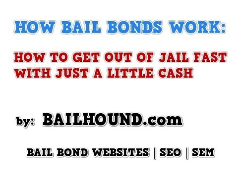 How Bail Bonds Work | How To Get out of Jail Fast With Bail Bonds