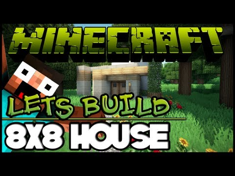 Minecraft Lets Build HD: House 8x8 Lot