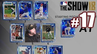BEATING TWO GOD SQUADS BACK TO BACK! | MLB The Show 18 | Diamond Dynasty #17