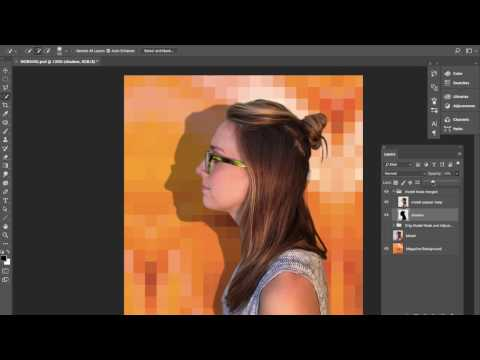 Photoshop Masks and Channels 04 - Alpha Channel as Shadow