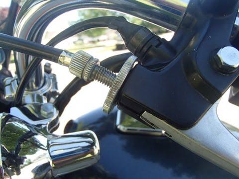 Kawasaki KZ650 CSR - clutch cable replacement